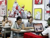 Khai giảng Khóa 09 lớp dạy vẽ thiếu nhi Manga Comics