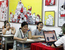 Khai giảng khóa 09 lớp dạy vẽ thiếu nhi Manga Comics 9