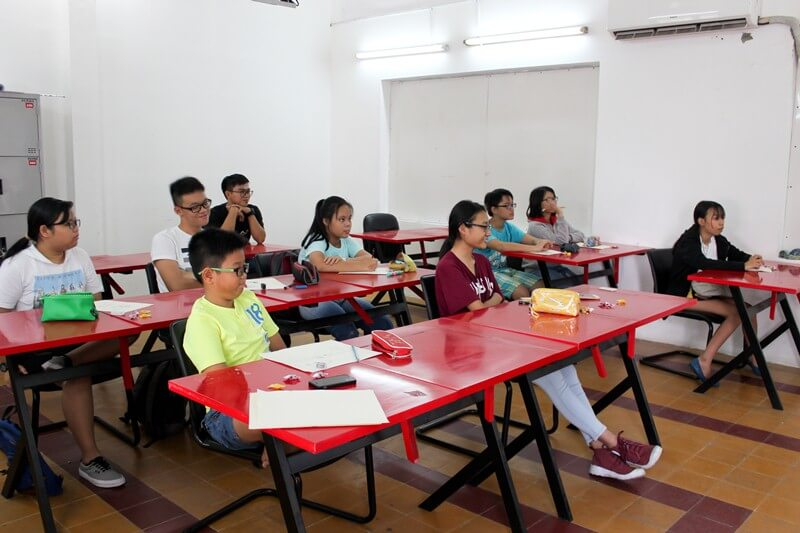 Khai giảng lớp dạy vẽ thiếu nhi Manga Comics Khóa 11 1