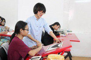 Khai giảng lớp dạy vẽ thiếu nhi Manga Comics Khóa 11 13