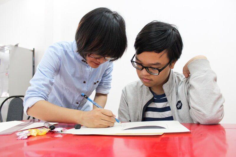 Khai giảng lớp dạy vẽ thiếu nhi Manga Comics Khóa 11 29