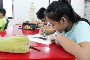 Khai giảng lớp dạy vẽ thiếu nhi Manga Comics Khóa 11 33