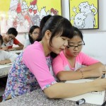 Lớp dạy vẽ thiếu nhi K10 11