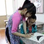 Lớp dạy vẽ thiếu nhi K10 17