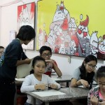 Lớp dạy vẽ thiếu nhi K10 2