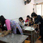 Lớp dạy vẽ thiếu nhi K10 22