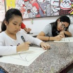 Lớp dạy vẽ thiếu nhi K10 6