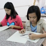 Lớp dạy vẽ thiếu nhi K10 7