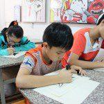 Lớp dạy vẽ thiếu nhi K10 8