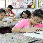 Lớp dạy vẽ thiếu nhi K10 9