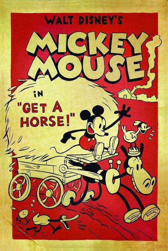Phim hoạt hình ngắn Get A Horse