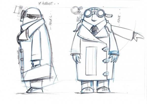 Phim hoạt hình ngắn Mr Hublot 2