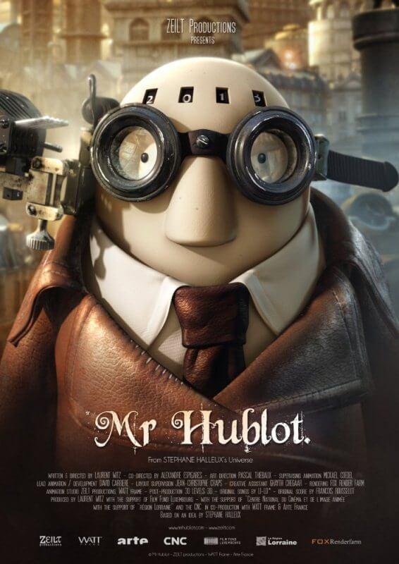 Phim hoạt hình ngắn Mr Hublot 8