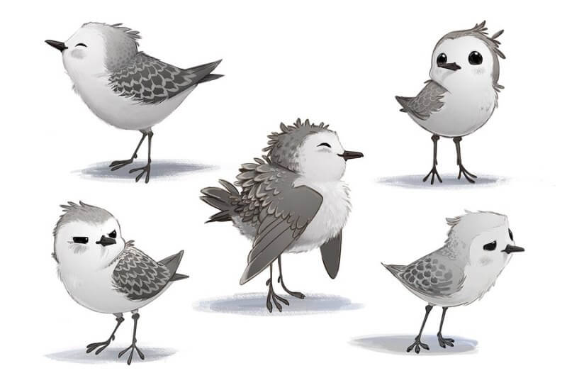 Piper câu chuyện đằng sau bộ phim chú chim nhỏ dũng cảm 1