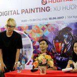 Talkshow Digital Painting Xu hướng và cơ hội nghề nghiệp 14