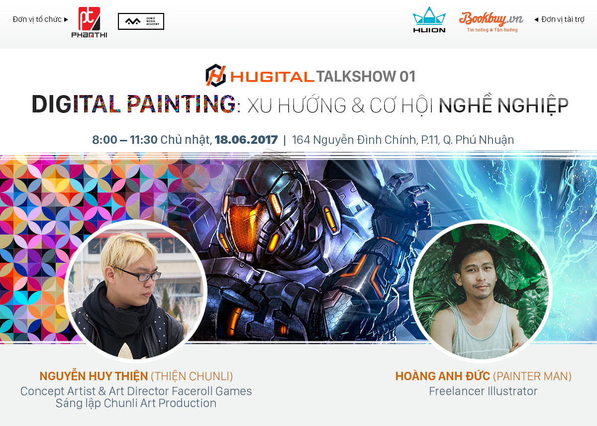 Talkshow Digital Painting