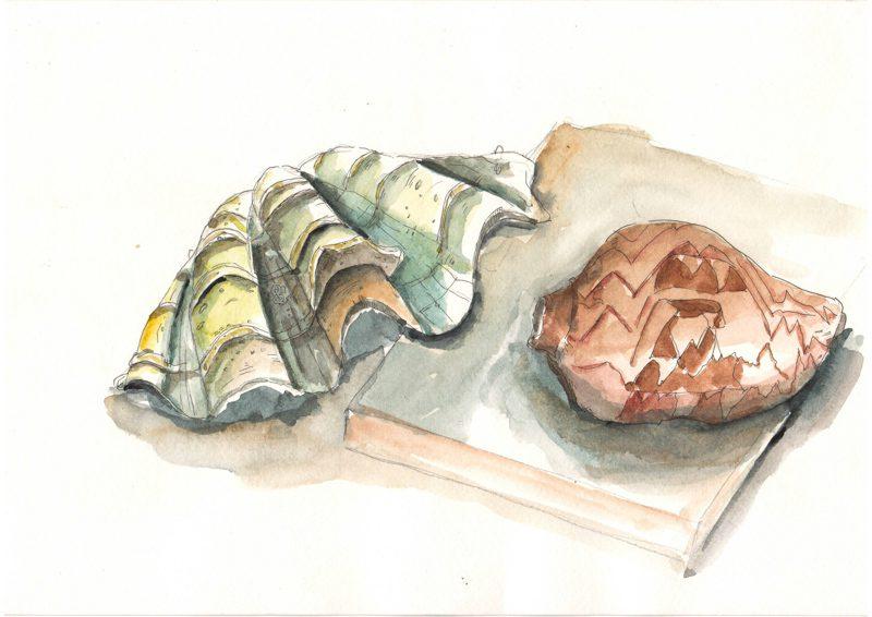 Thực tế Nam Du watercolor Nguyễn Thanh Triều 10