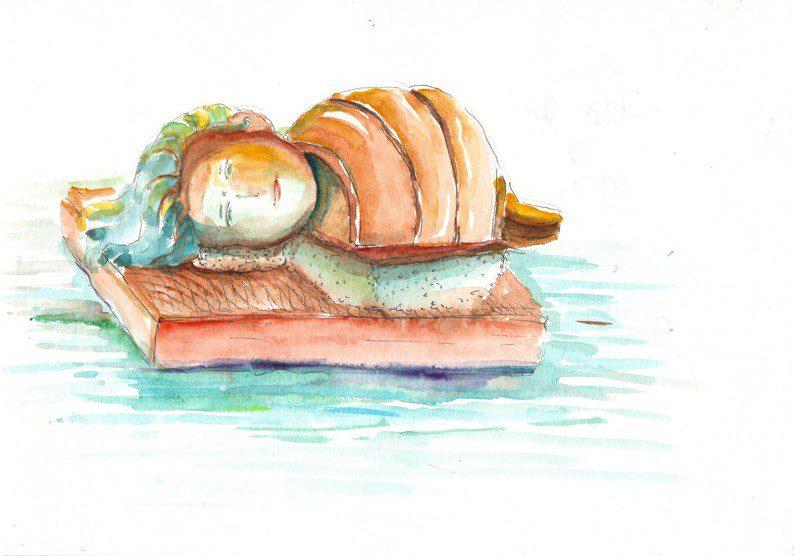 Thực tế Nam Du watercolor Nguyễn Thanh Triều 14