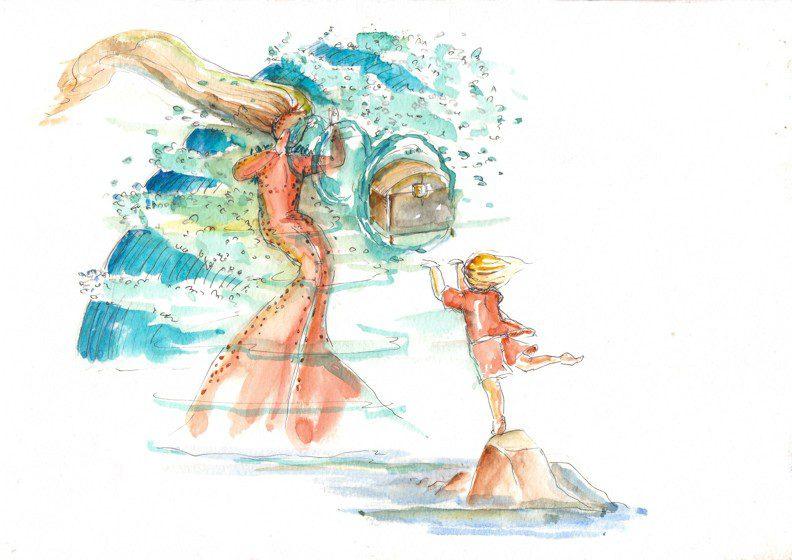 Thực tế Nam Du watercolor Nguyễn Thanh Triều 17