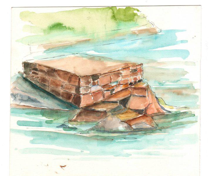 Thực tế Nam Du watercolor Nguyễn Thanh Triều 19