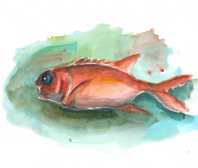 Thực tế Nam Du watercolor Nguyễn Thanh Triều 31