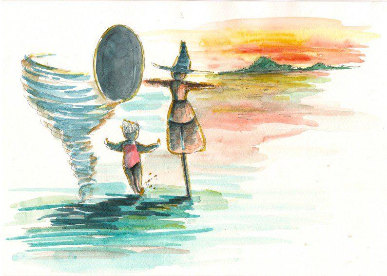 Thực tế Nam Du watercolor Nguyễn Thanh Triều 43