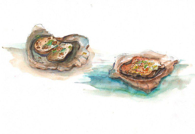 Thực tế Nam Du watercolor Nguyễn Thanh Triều 6