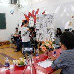 Tổng kết Lớp vẽ truyện tranh cấp tốc K04 30