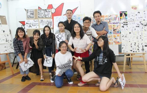 Tổng kết Lớp học vẽ Truyện tranh cấp tốc Khóa 04