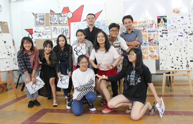 Tổng kết Lớp vẽ truyện tranh cấp tốc K04 72