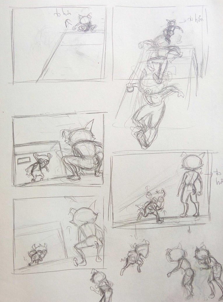 Hoạt hình 2D - The Thief - Mai Thu Hải Ngân