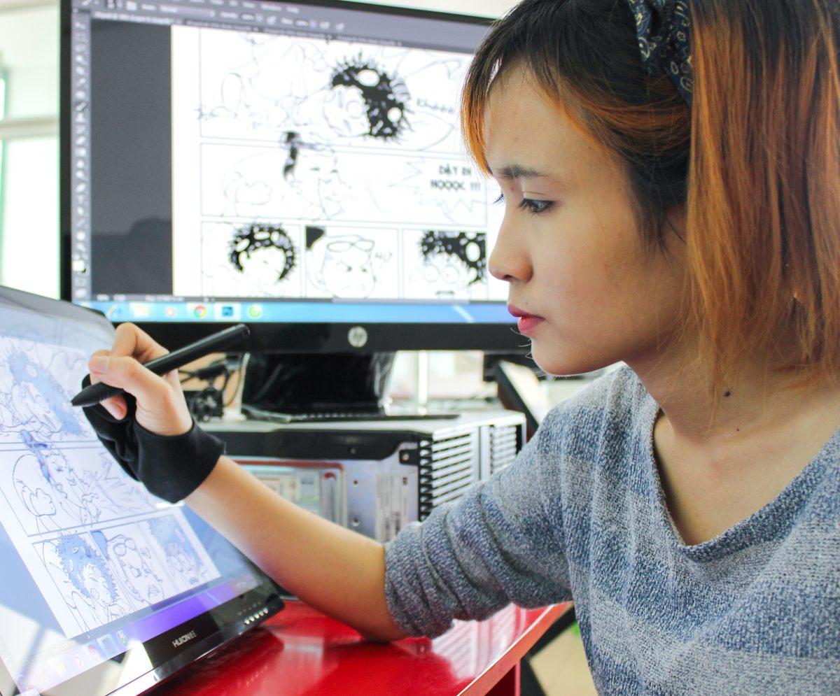 biên kịch trẻ Lạc An