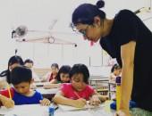Khai giảng lớp học vẽ manga cơ bản Khóa 14 tại Quận 3