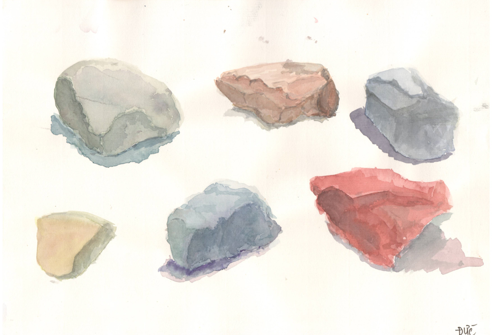 Tranh vẽ Màu nước - Phan Hồng Đức 10