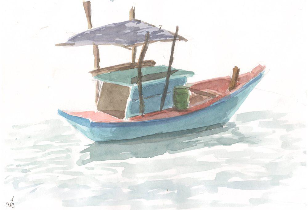 Tranh vẽ Màu nước - Phan Hồng Đức 7