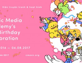 Comic Media Academy's 3rd Birthday Celebration