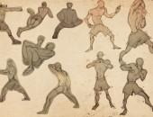 Bài thi Gesture Drawing – Dương Hương Ly