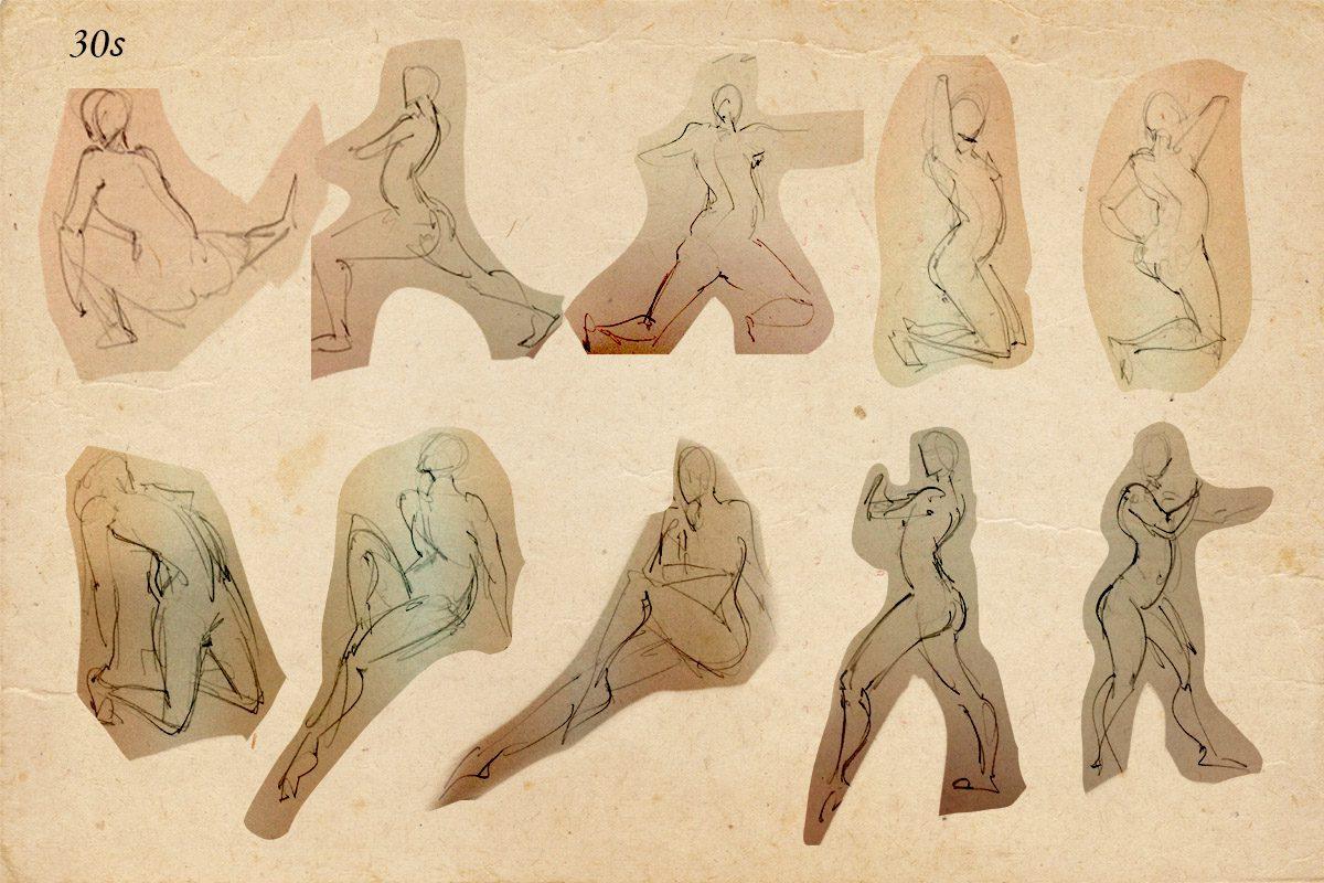 Bài thi Gesture Drawing