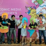 Comic Media Academy 3rd birhtday celebration