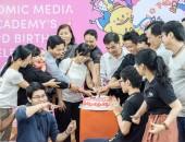 Comic Media Academy kỷ niệm 3 năm thành lập và phát triển