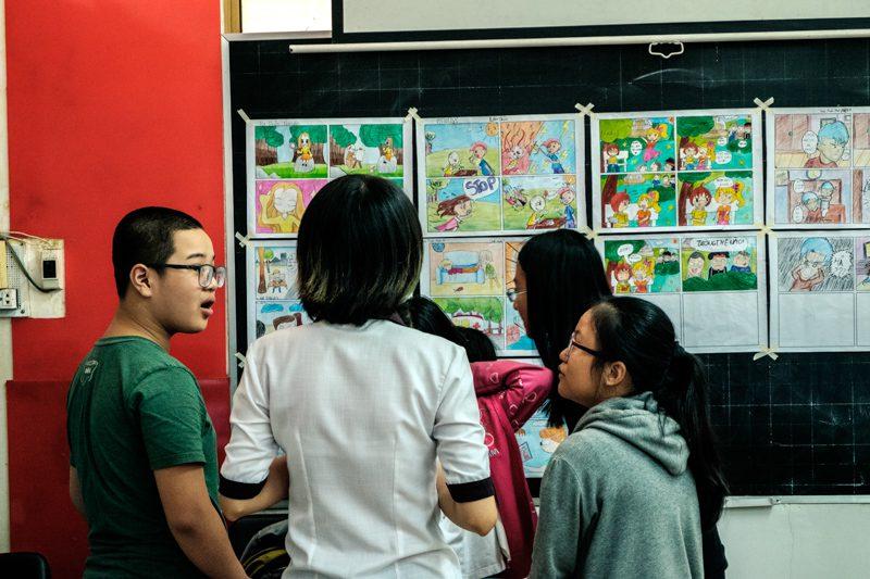 Tổng kế lớp học vẽ manga cơ bản 17