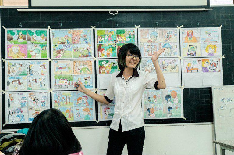 Tổng kế lớp học vẽ manga cơ bản 29