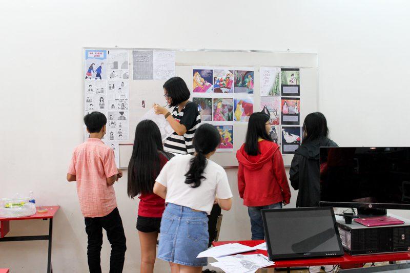 Tổng kết lớp học vẽ truyện tranh trên máy tính 4