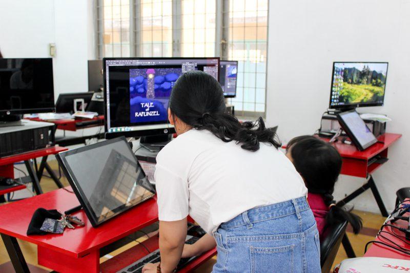 Tổng kết lớp học vẽ truyện tranh trên máy tính