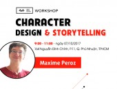 Workshop Character Design & Storytelling lần 2