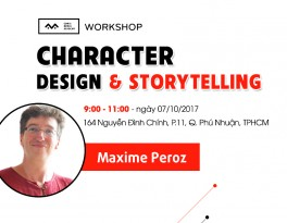 Workshop character design và storytelling