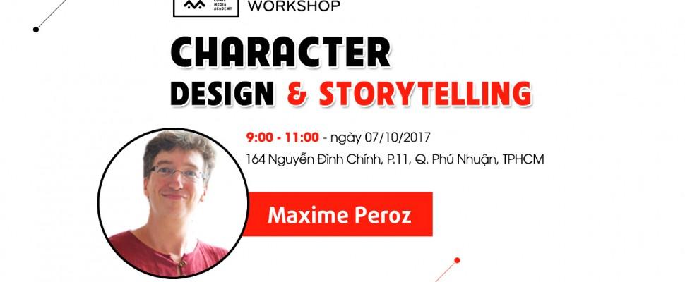 Workshop Character Design & Storytelling lần 2