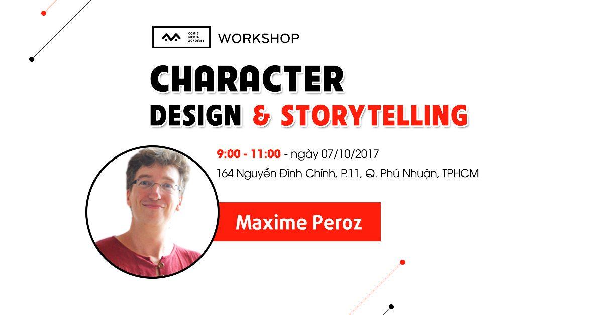 Workshop character design và storytelling