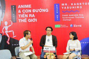 Hội thảo Anime và con đường tiến ra thế giới