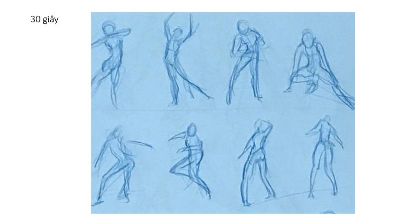 Bài tập Gesture Drawing Huỳnh Ngọc Minh Phương 11